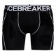 Icebreaker M's Anatomica Zone Boxers black/white